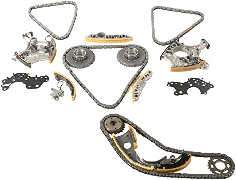 OCPTY 06H109467AF Timing Chain Kits Fits Timing Chain engin 2010 2011 2012 2013 Audi A3 2009 2010 2011 2012 2013 Audi A3 quattro 2012 2013 2014 2015 Audi A4 2012 2013 VW Beetle
