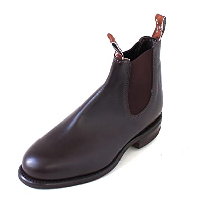 7138fc57d5e Amazon.com | R.M. Williams Comfort Turnout Yearling chestnut | Shoes