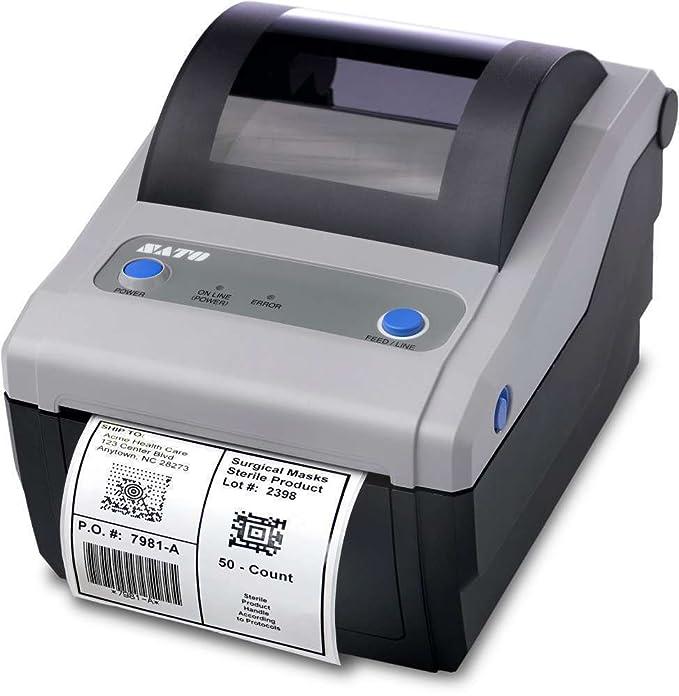 Amazon.com: SATO, cg408 Impresora, 4.1, 203 DPI, USB ...