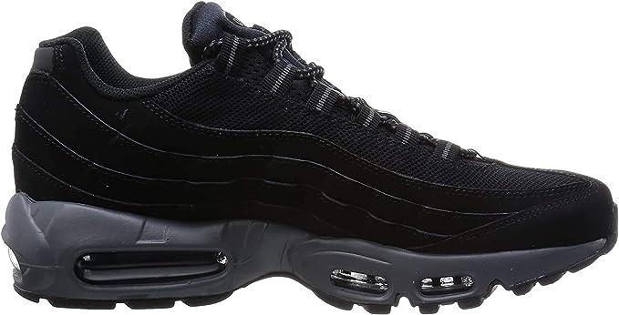 Quality Real Air Max 95 Negro para hombre,zapatillas nike