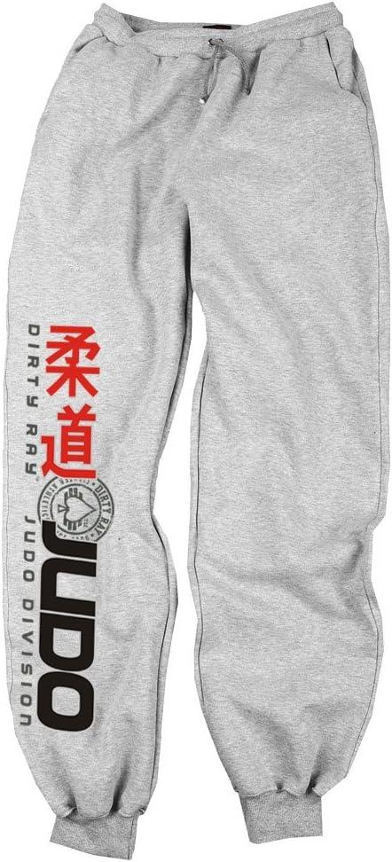 Dirty Ray Judo Division pantalón de chándal hombre con bajo ...