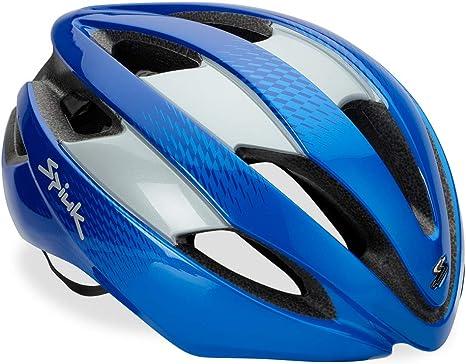 Spiuk Sportline Casco Eleo, Adultos Unisex, Azul/Plata, (M-L) 53-61: Amazon.es: Deportes y aire libre