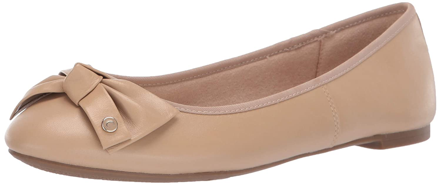 Classic Nude Eqt Sheep Leather Circus by Sam Edelman Womens Connie Ballet Flat
