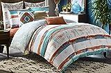 Blissliving Home 14826BEDDQUEMUL Siesta 92-Inch by 96-Inch 3 Piece Queen Duvet Set, Multi