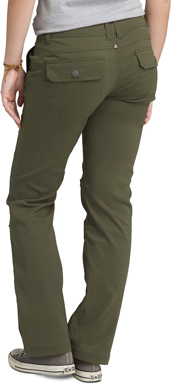 Amazon Com Prana Women S Halle Roll Up Water Repellent Stretch Pants For Hiking And Everyday Wear Clothing