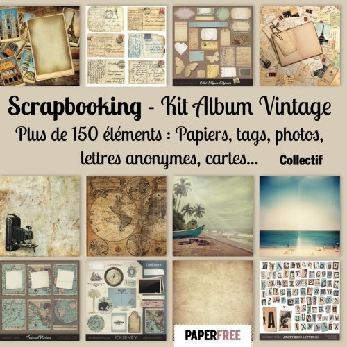 Scrapbooking Kit album vintage French Edition