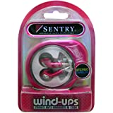 Sentry Wind-UPS Stereo Earbuds With Case Pink - Sentry HP228