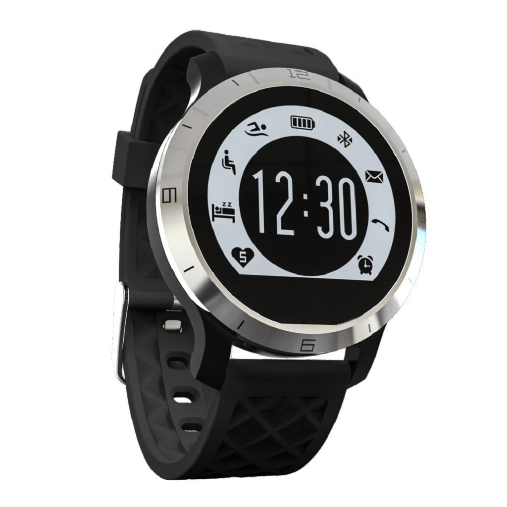 Wrisky Sports Smart Watch Heart Rate Fitness Tracker Sleep Monitor Pedometer