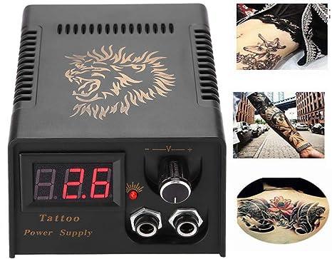 Fuente de alimentación de la máquina de tatuaje, pantalla LCD ...