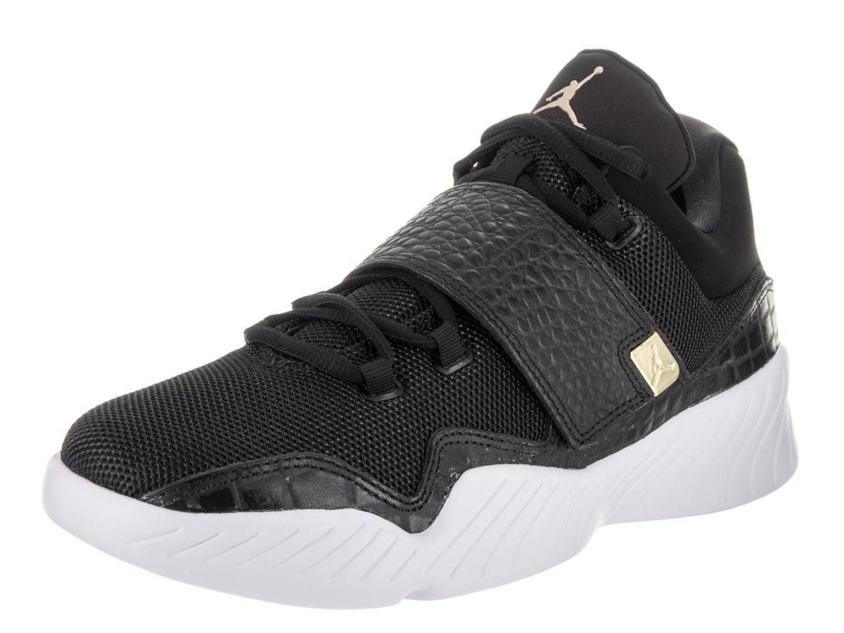 Jordan Nike Men's J23 Casual Shoe B01M0XOF31 11.5 D(M) US|Black / Metallic Gold-white