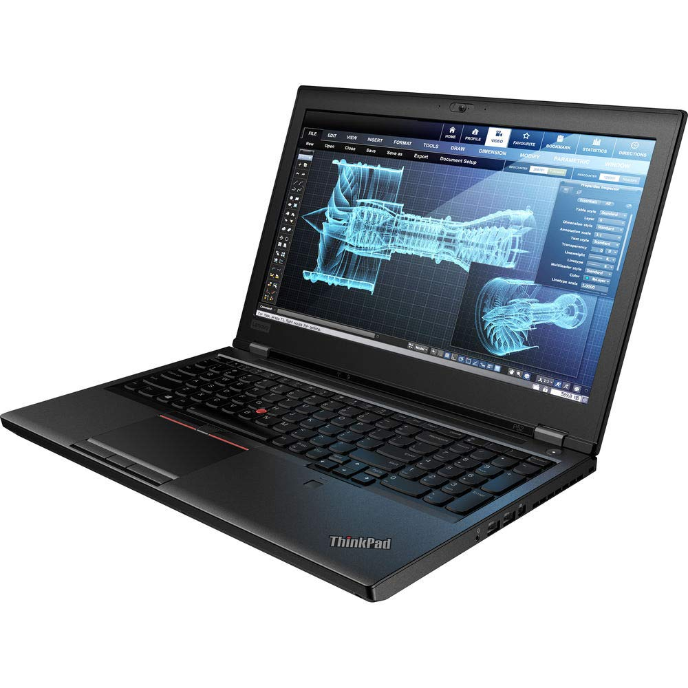 Amazon com: Lenovo ThinkPad P52 (2018) 15 6