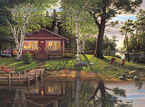 Buffalo Games Simpler Times by Kim Norlien Jigsaw Puzzle (1000 Piece) by Buffalo Games