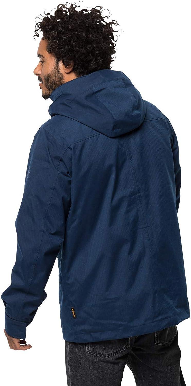 Jack Wolfskin Takamatsu Men's 3-in-1 Jacket M 3-in-1 Jacket, Men dark indigo
