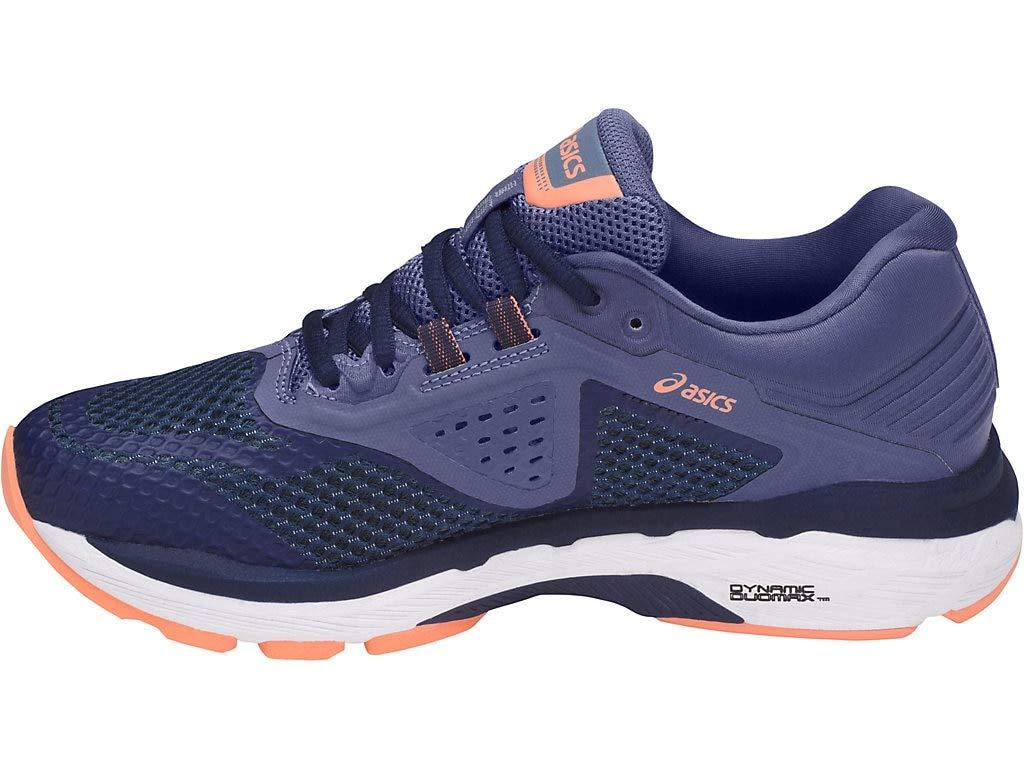 ASICS Women's GT-2000 6 Running Shoe, Indigo Blue/Indigo Blue/Smoke Blue, 5 N US