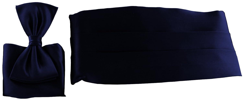 ADAMANT Kummerbund Set aus 100% Seide l Verschiedene Farben KB1002