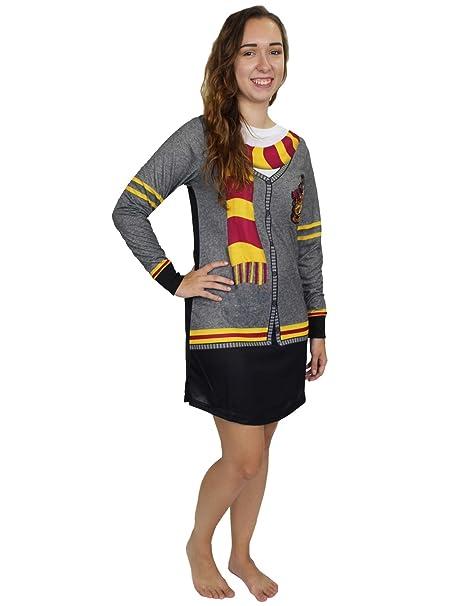 Amazon.com: Harry Potter Hogwarts Gryffindor Pajamas de ...