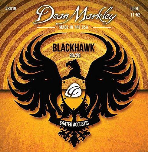 - Dean Markley Blackhawk Coated 80/20 Acoustic Guitar Strings 11-52