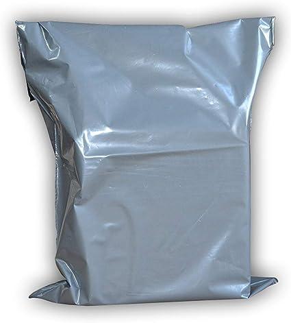 "20 21x24/"" GREY PLASTIC MAILING POSTAL MAIL POST BAGS"