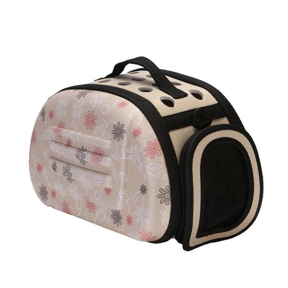 C Daeou Pet Backpack EVA Hand Folding Bag Portable pet Dog Suitcase cat cage, 36cm,22cm,20cm