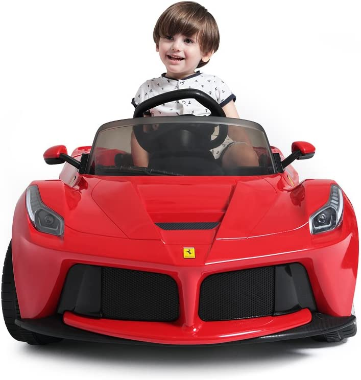 Ferrari Laferrari Ride On Car Red Electric Vehicles Amazon Canada