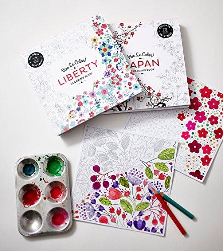 Vive Le Color! Japan (Adult Coloring Book): Color In: De ...