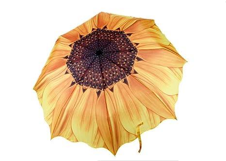 Paraguas de girasol Paraguas Paraguas Anti-UV Paraguas Especiales Paraguas Creativos Para Coches Para Mujeres