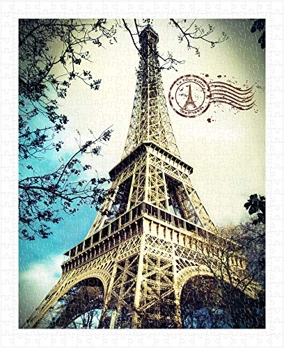 Pintoo - H1486 - Eiffel Tower - 500 Piece Plastic Puzzle]()