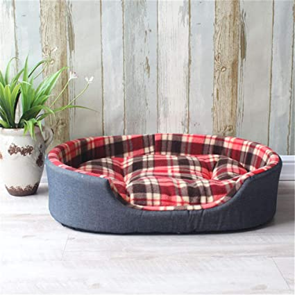 Tablar Camas para Mascotas Cachorro Caliente Casa de la Perrera del Gato Cama cómoda para Cachorro
