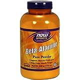 NOW Beta Alanine Powder, 500 Grams