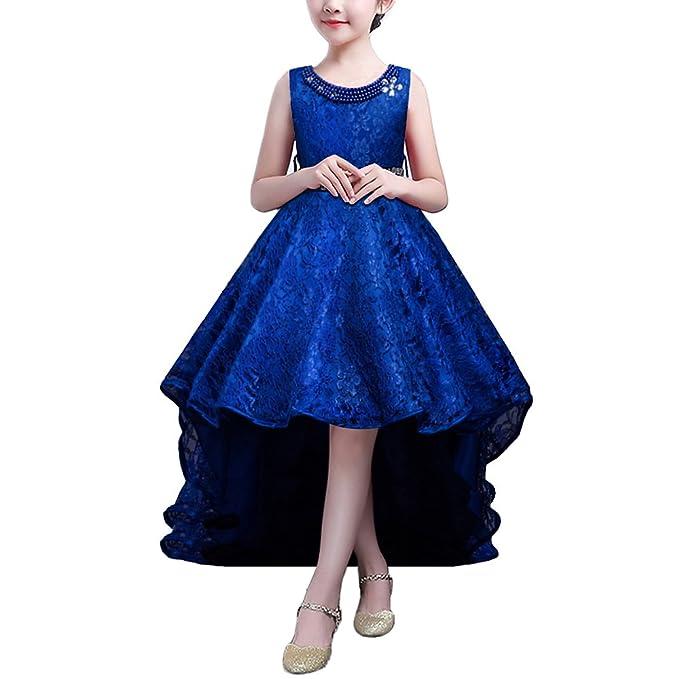 Disfraces de niñas Faldas de fiesta de bodas Azul 120