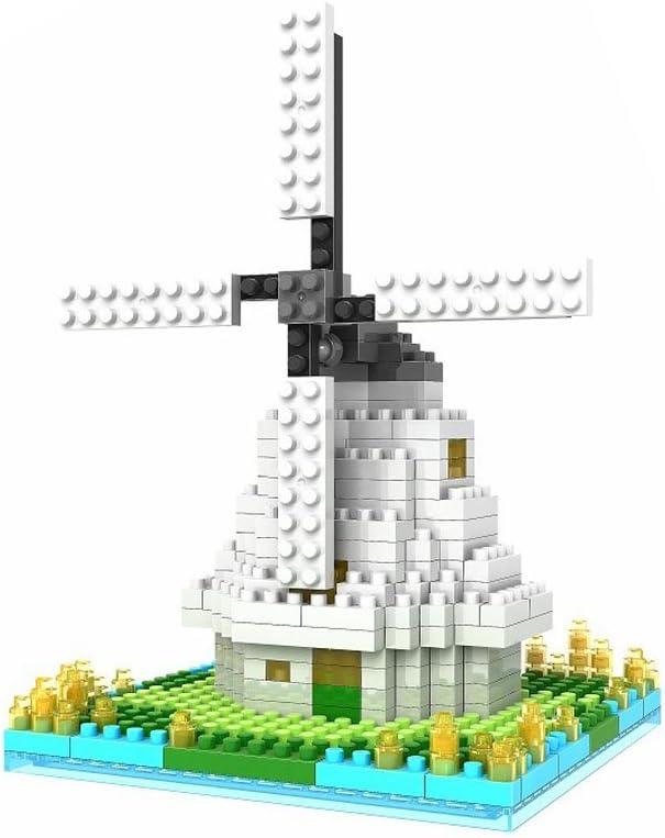Arctic star World-Renowned Architectural 3D Mini Blocks Dutch Windmill