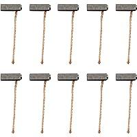 HSeaMall 10 st 5 x 6 x 14 mm motor kolborstar för elverktyg generisk elektrisk motor ersättning