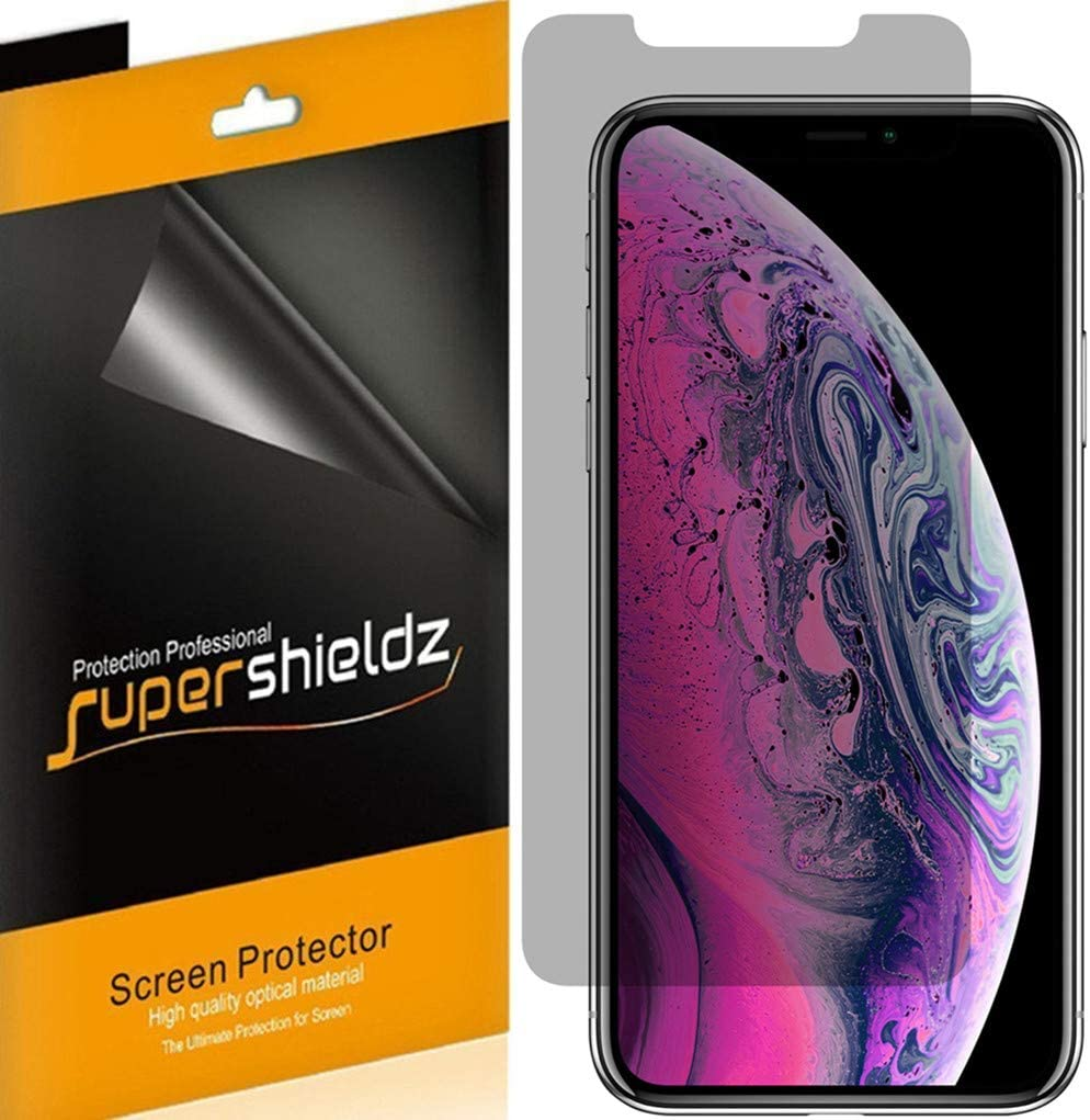 (2 Pack) Supershieldz (Privacy) Anti Spy Screen Protector Shield for Apple iPhone 11 Pro Max and iPhone Xs Max (6.5 inch)