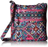 Vera Bradley Iconic Triple Zip Hipster, Signature Cotton, Kaleidoscope