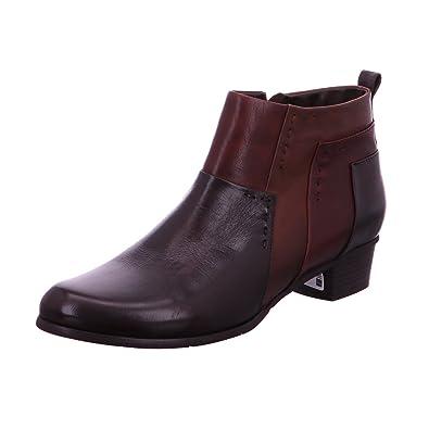 Regarde Le Ciel Stefany 127 Noir - Chaussures Bottine Femme