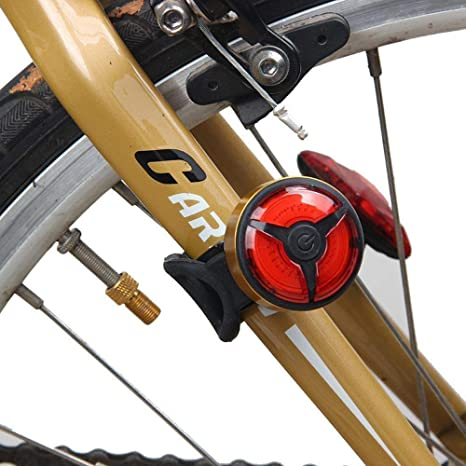 CXZHWGXT Frente de Bicicleta, luz Trasera de Bicicleta, luz ...