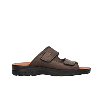 2e031281234f Fly Flot Men s 62021UE Slippers Brown Brown Brown Size  10  Amazon ...