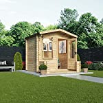 Waltons-Garden-Log-Cabin-Home-Office-Traditional-Timber-Chalet-Garden-Room-Measures-25m-x-27m-Apex-Roof-complete-with-Floor-Roof-Felt-Single-glaze-safety-glass-25x2725-x-27