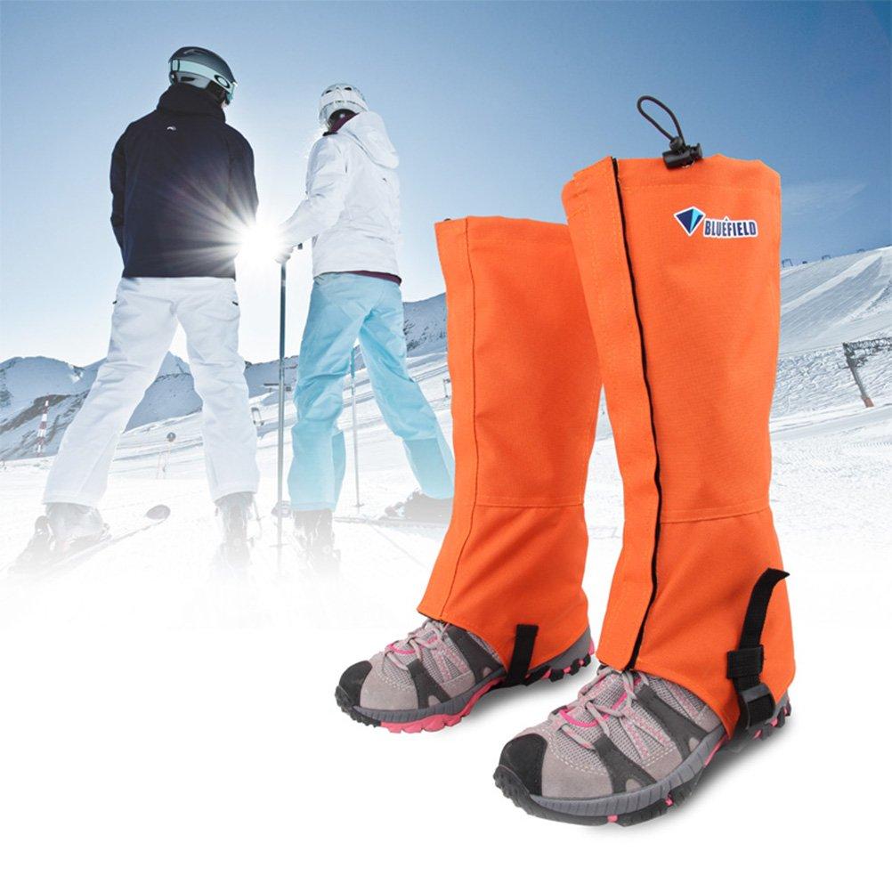 VORCOOL Polainas para IR de Excursi/ón Caza esqu/í Caminar Snow Boot Gaiters Outdoor Mountain Durable a Prueba de Viento Impermeable High Leg Cover Adulto Unisex Escalada