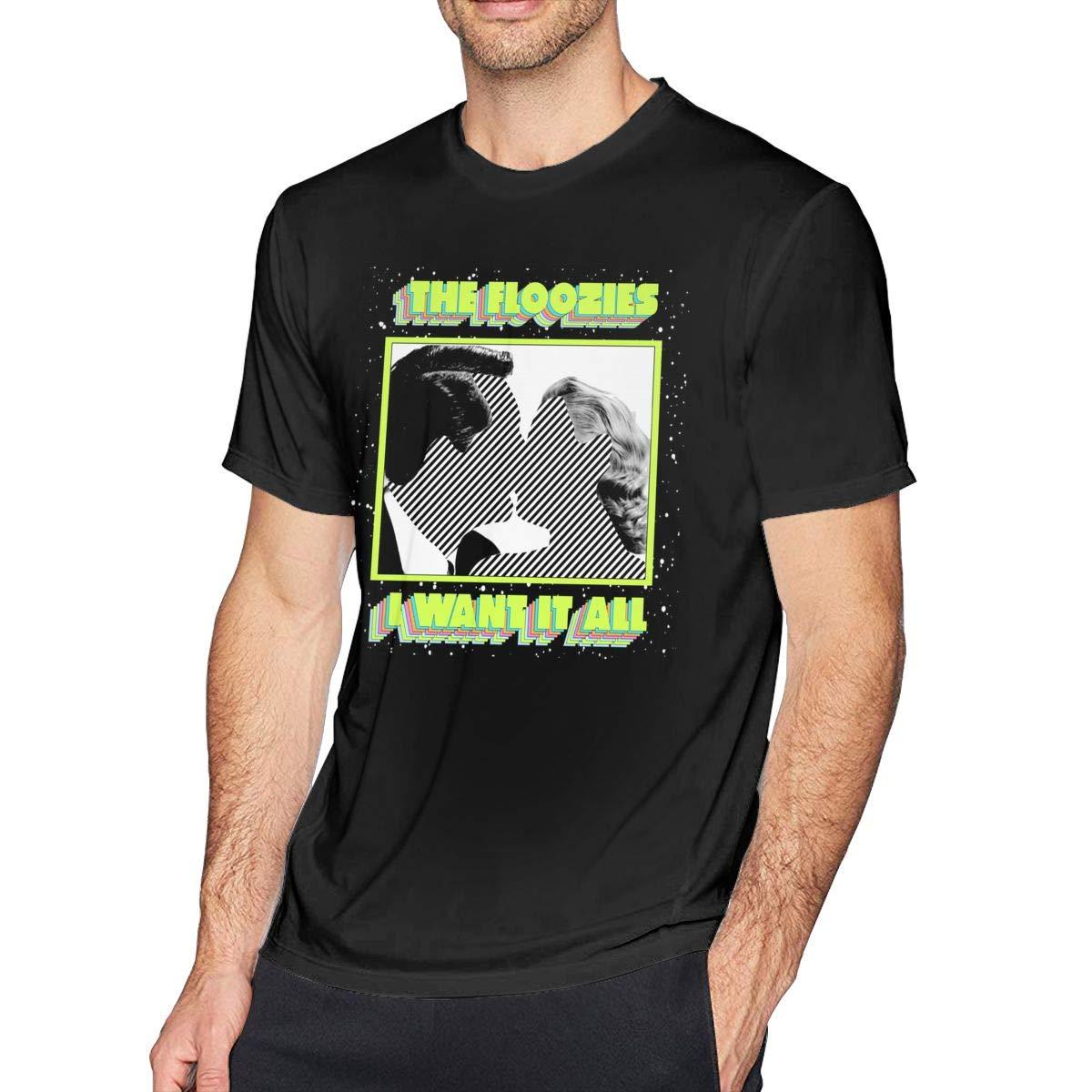 UP-ARP Mens TheFloozies Tee T-Shirt Black