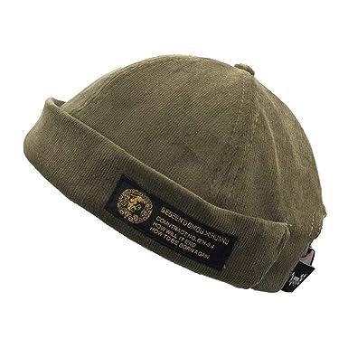 8a77545f1ed1d [ネッカー] 帽子 キャップ フィッシャーマンキャップ ロールキャップ サグキャップ ツバ無し (緑)