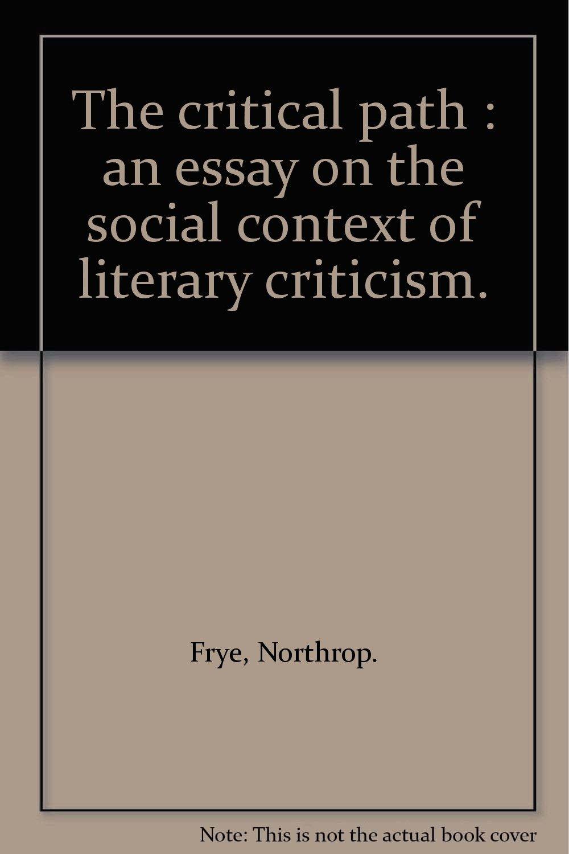 Northrop Frye in Context