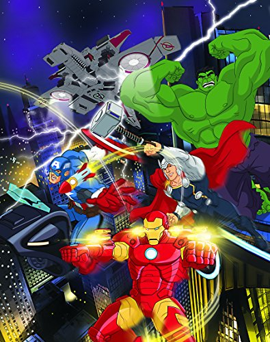 Edge home Products Marvel Avengers Canvas with LED