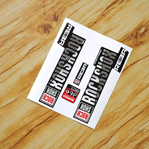 (Best Quality - Bicycle Stickers - Rock Shox REBA Fork Stickers Mountain Bike Bicycle Front Fork Carbon Frame Protection Sticker Bike Race Cycling Dirt Decals - by PPL21-1 PCs)