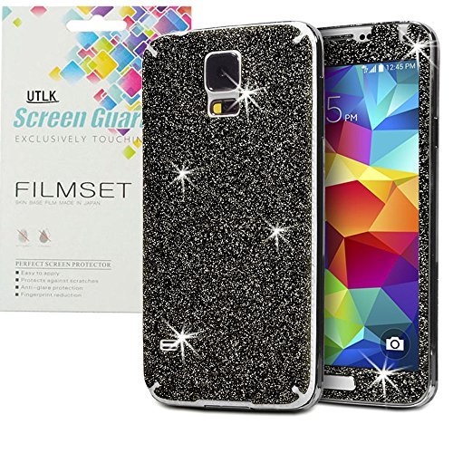 utlk-screen-protector-for-galaxy-s5-ultra-slim-bling-decal-sparkling-paste-back-and-front-glitter-sk