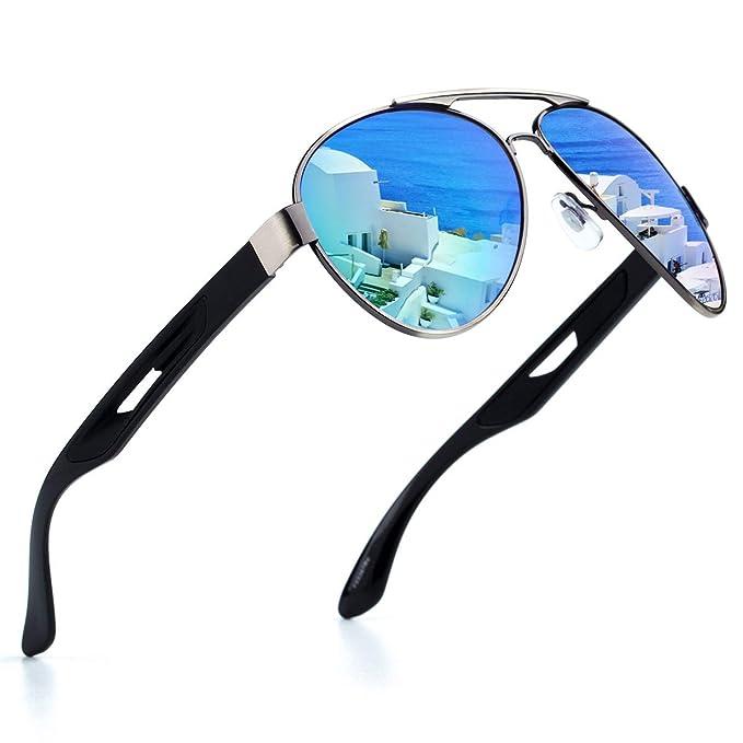 Amazon.com: Gafas de sol deportivas para hombre, marco de ...