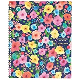 Five Star 2018-2019 Academic Year Weekly & Monthly Planner, Large, 8-1/2 x 11-1/2, In Bloom, Ditsy Design (CAW557D1)