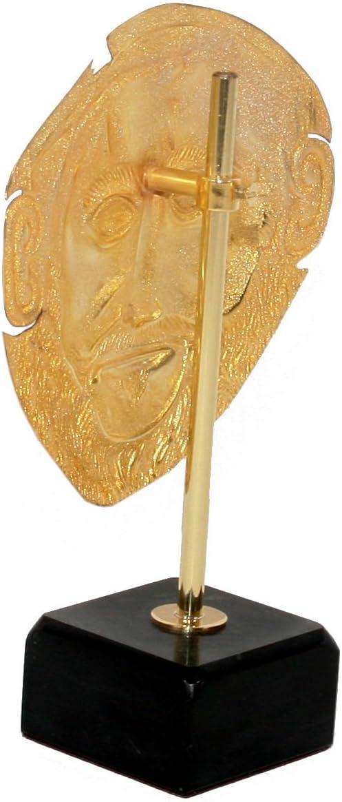 Máscara de Agamemnon con base de mármol, Griego, Museo Replica ...
