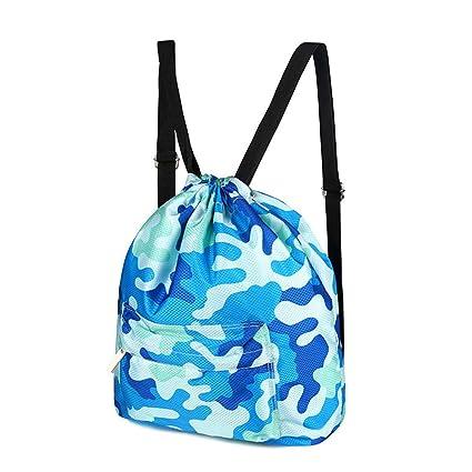 Amazon.com: dcrywrx natación bolsa de playa seco mojado ...