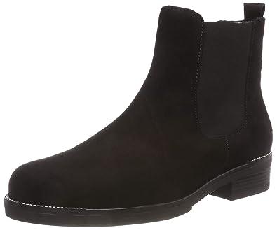 28bcaca8e977 Gabor Shoes Women s Fashion Chelsea Boots, Black (Schwarz (Strass) 17),